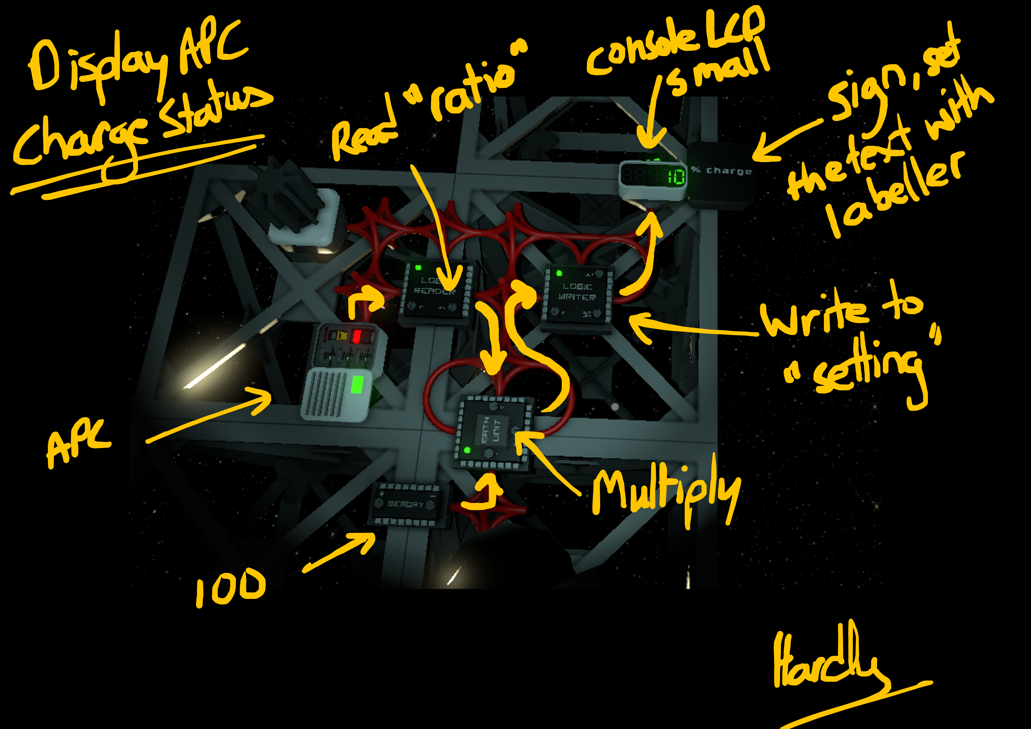 Steam Community Guide Slightly Less Simple Logic Units Circuit Burning Wires Continues To Be Considered A Sub Optimal Feature For Most Applications