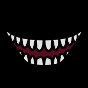 evil cartoon mouth - 178×178