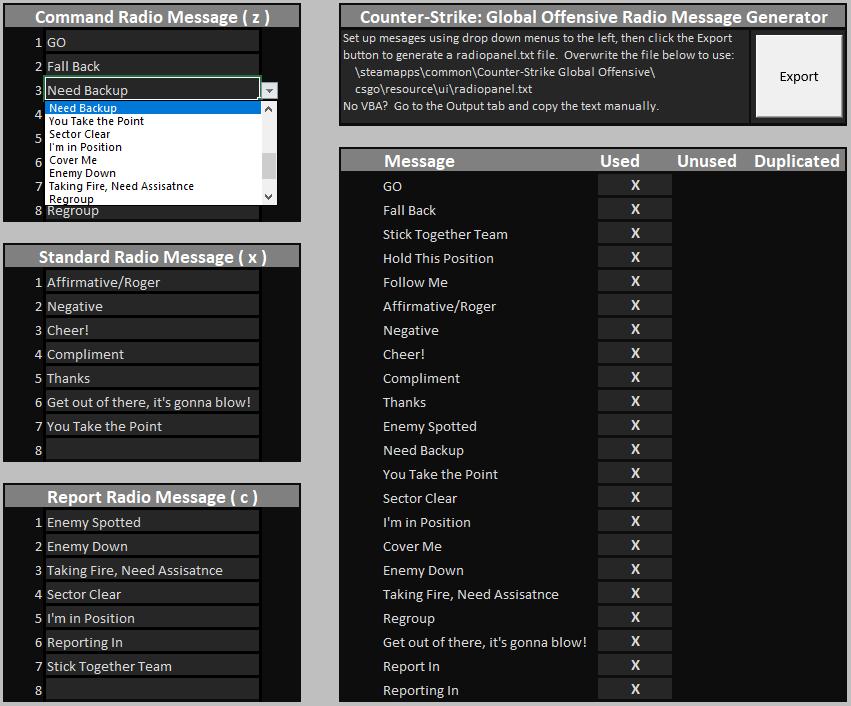 Steam Community Guide Csgo Custom Radio Message