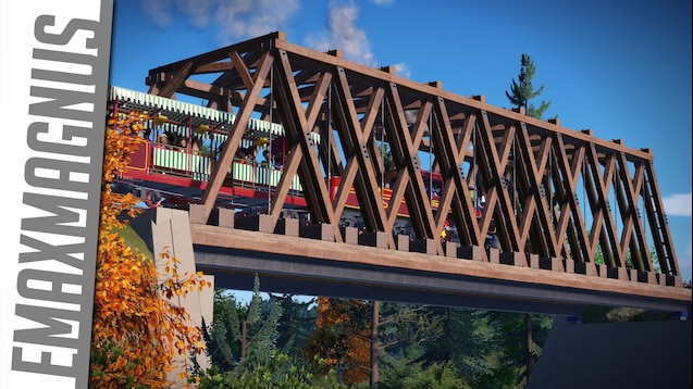 Steam Workshop Realistic Wooden Truss Bridge Modular