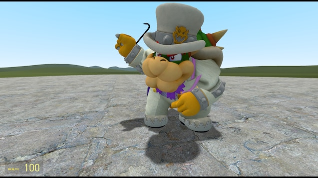 Steam Workshop Super Mario Odyssey Wedding Bowser Playermodel
