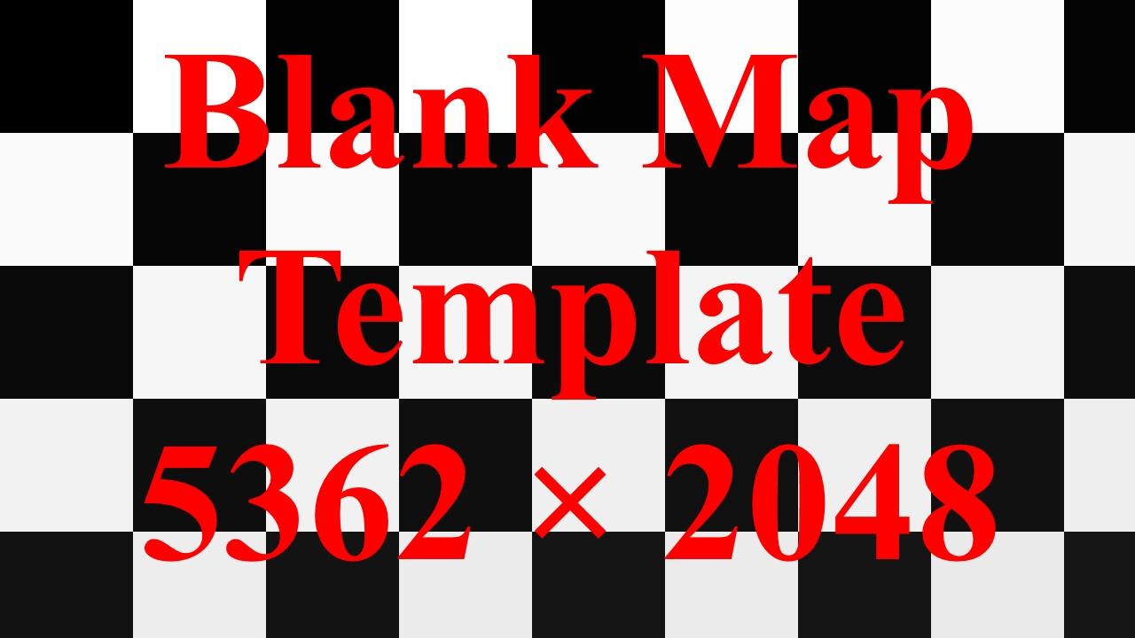 Modding Utility: Blank Map Template: 5632×2048 (Vanilla Size