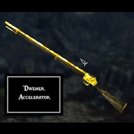 Steam Workshop Mod Status Cancelled New Concept Version In Rough Progress Dwemer Accelerator Dwemer Gun