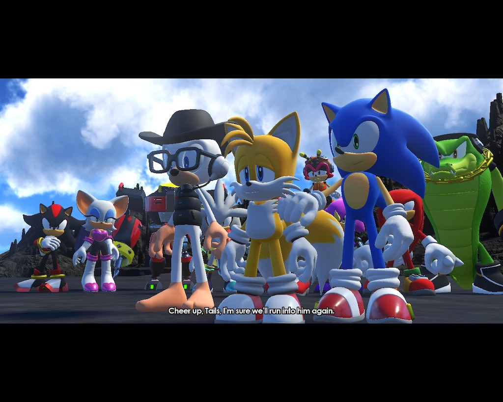 Steam Community Screenshot Aww The Sad Look On Tails S Face As He Misses The Classic Version Of Sonic The Hedgehog As Do I But Like The Modern Sonic Said