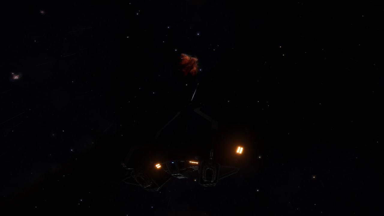 Départ pour California Nebula