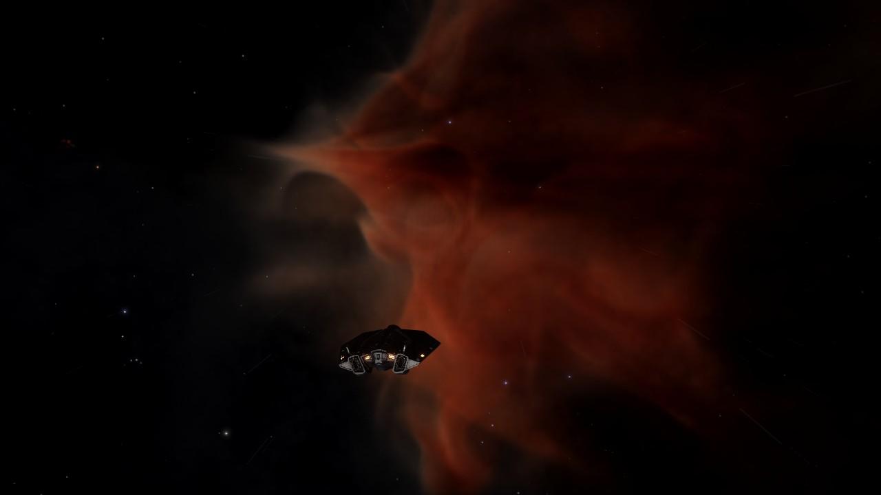 Arrivée à California Nebula