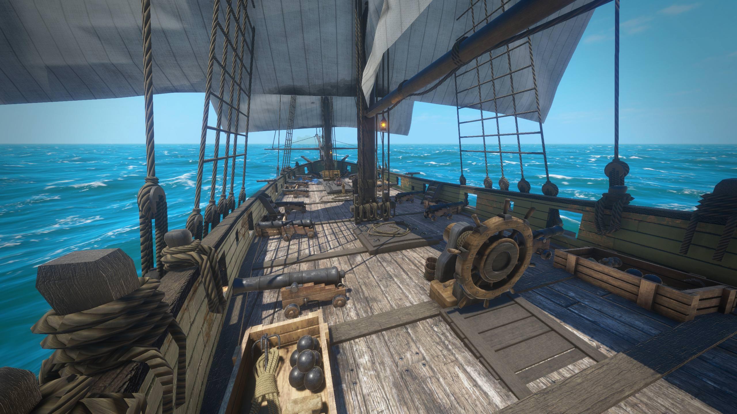 Палуба на корабле картинки