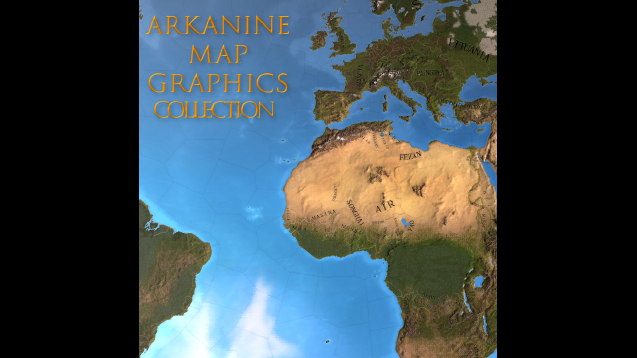 Arkanine Map Graphics Collection - Skymods