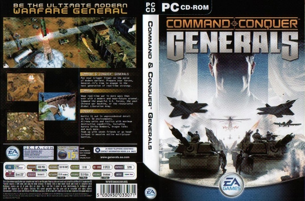 steam command and conquer generals