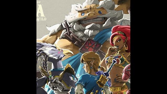 Steam Workshop Legend Of Zelda Botw Champions Ballad