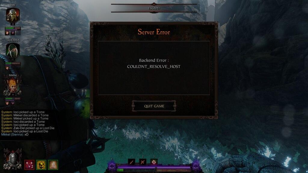 Steam Community :: Screenshot :: BACKEND ERROR SIMULATOR 2018