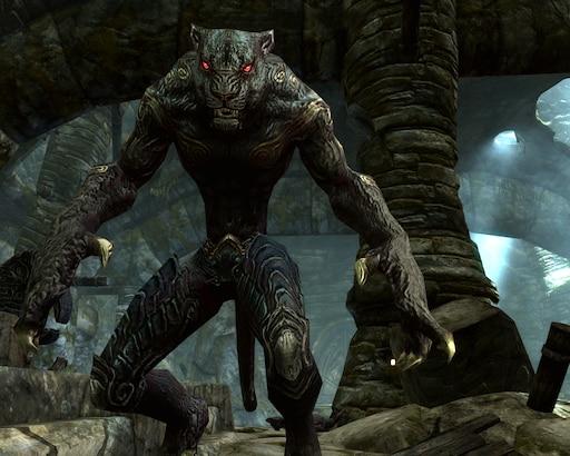 Steam Workshop::Werepanther - Werewolf Replacer