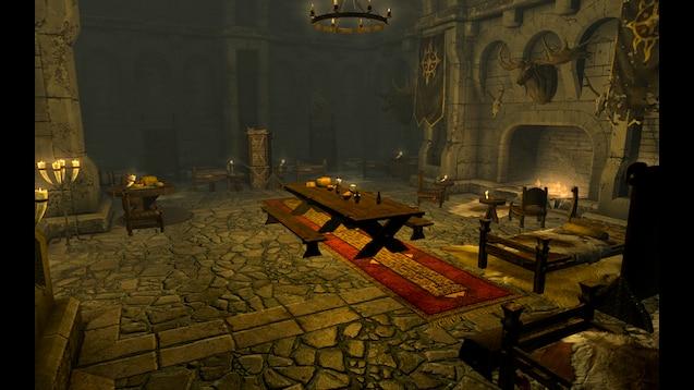 Steam Workshop :: Fort Dawnguard Improvements