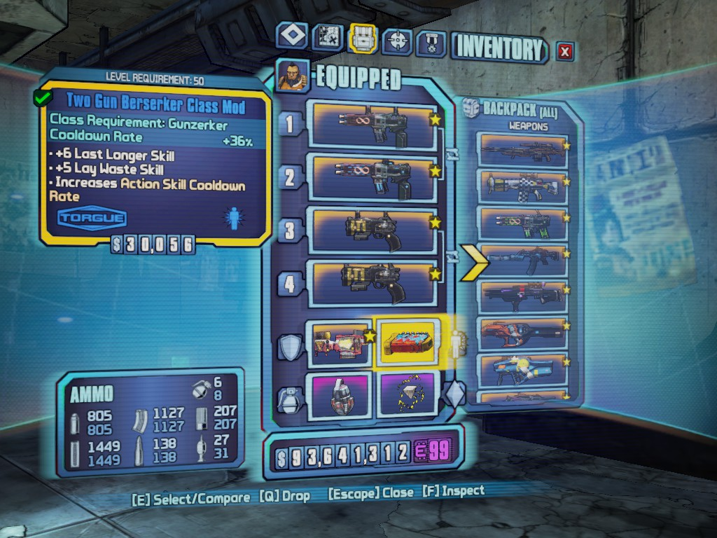 borderlands 2 gunzerker pistol build