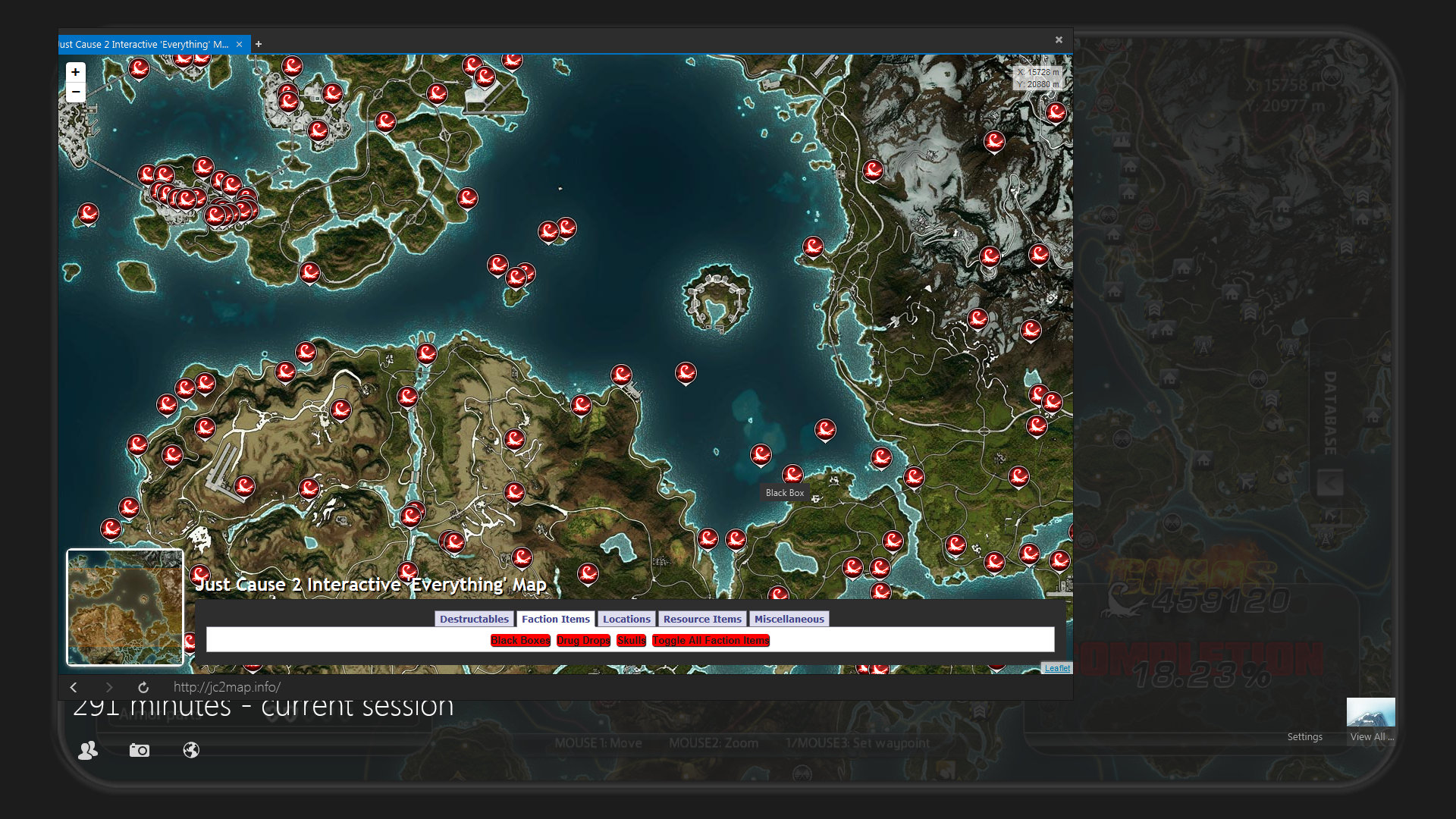 Mapa Just Cause 3.Steam Community Guide Just Cause 2 Interactive