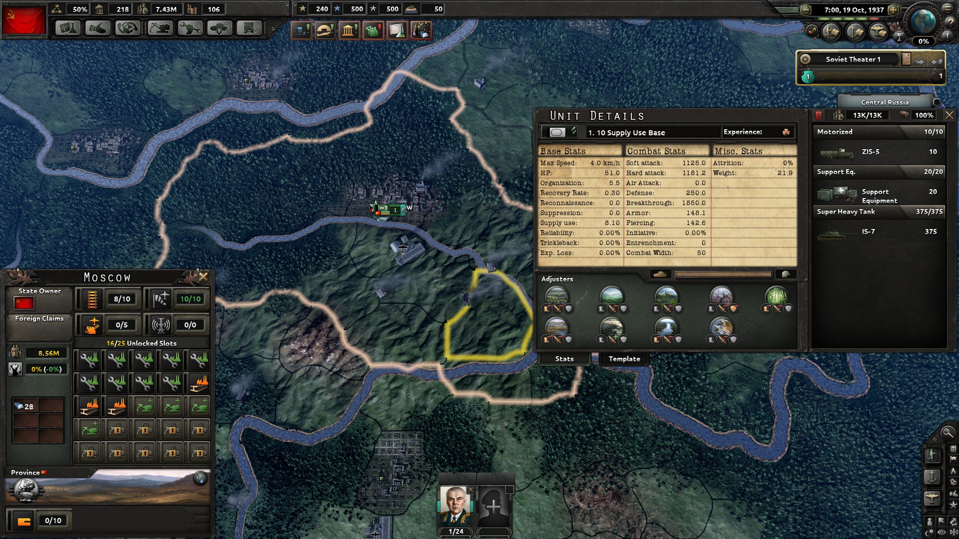 Artillery uses the most supplies in HoI4 | Paradox