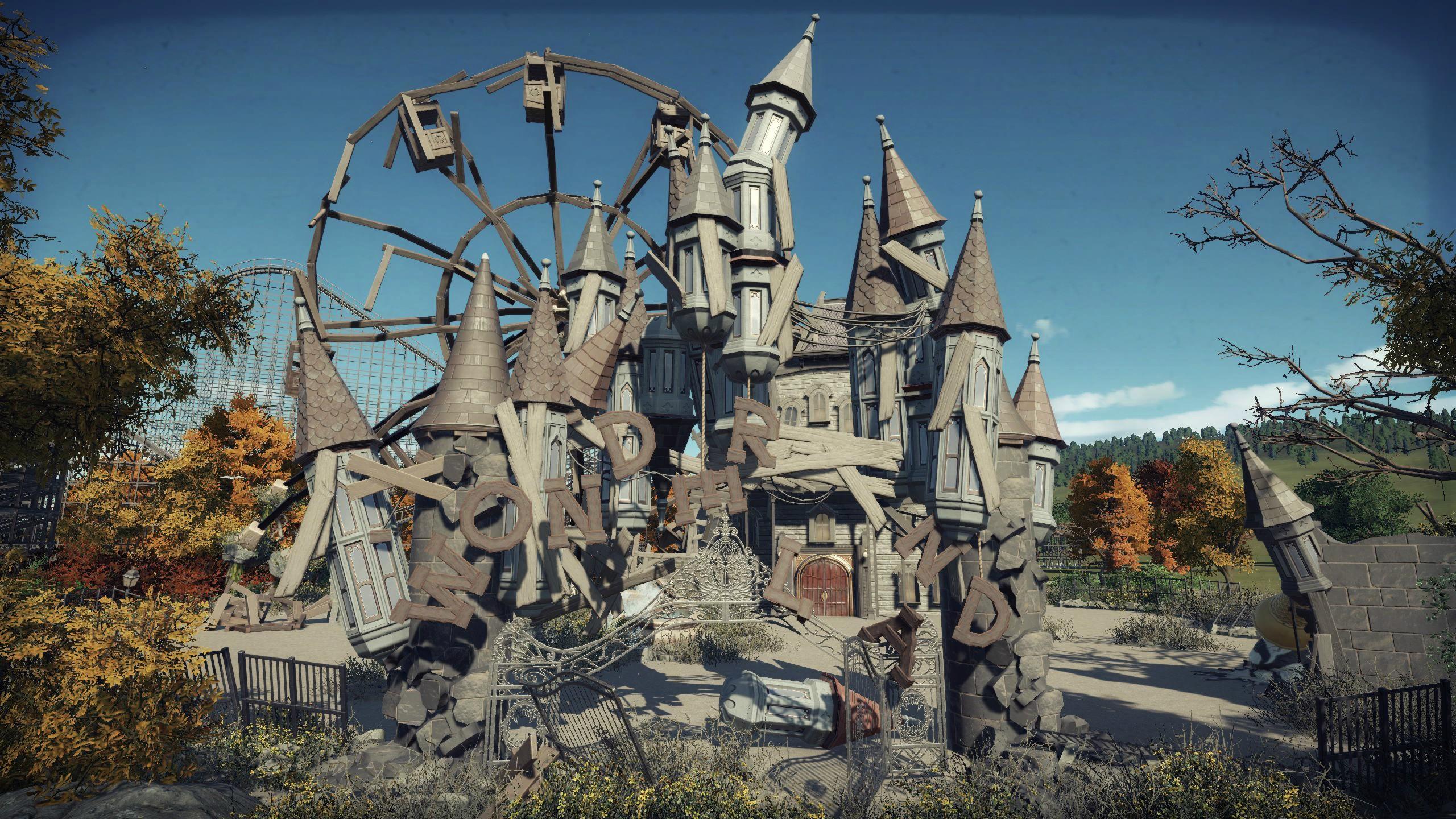 Steam Workshop Abandoned Theme Park