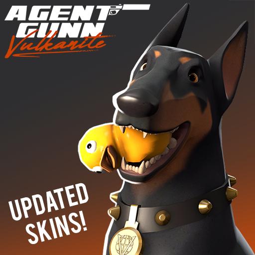 Agent Gunn: Skud Pack ( TF2 Universe Dog )
