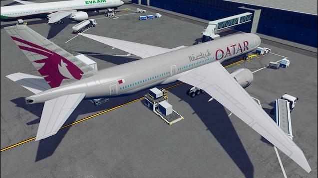 Steam Workshop :: Boeing 777-200LR - Qatar Airways