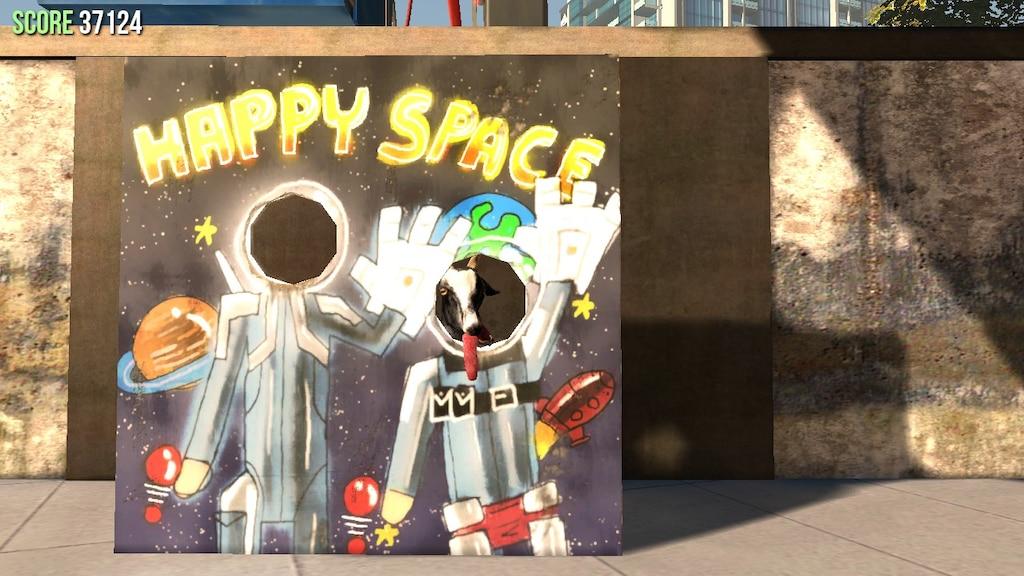 Steam Community :: Screenshot :: SPACE GOAT!!!