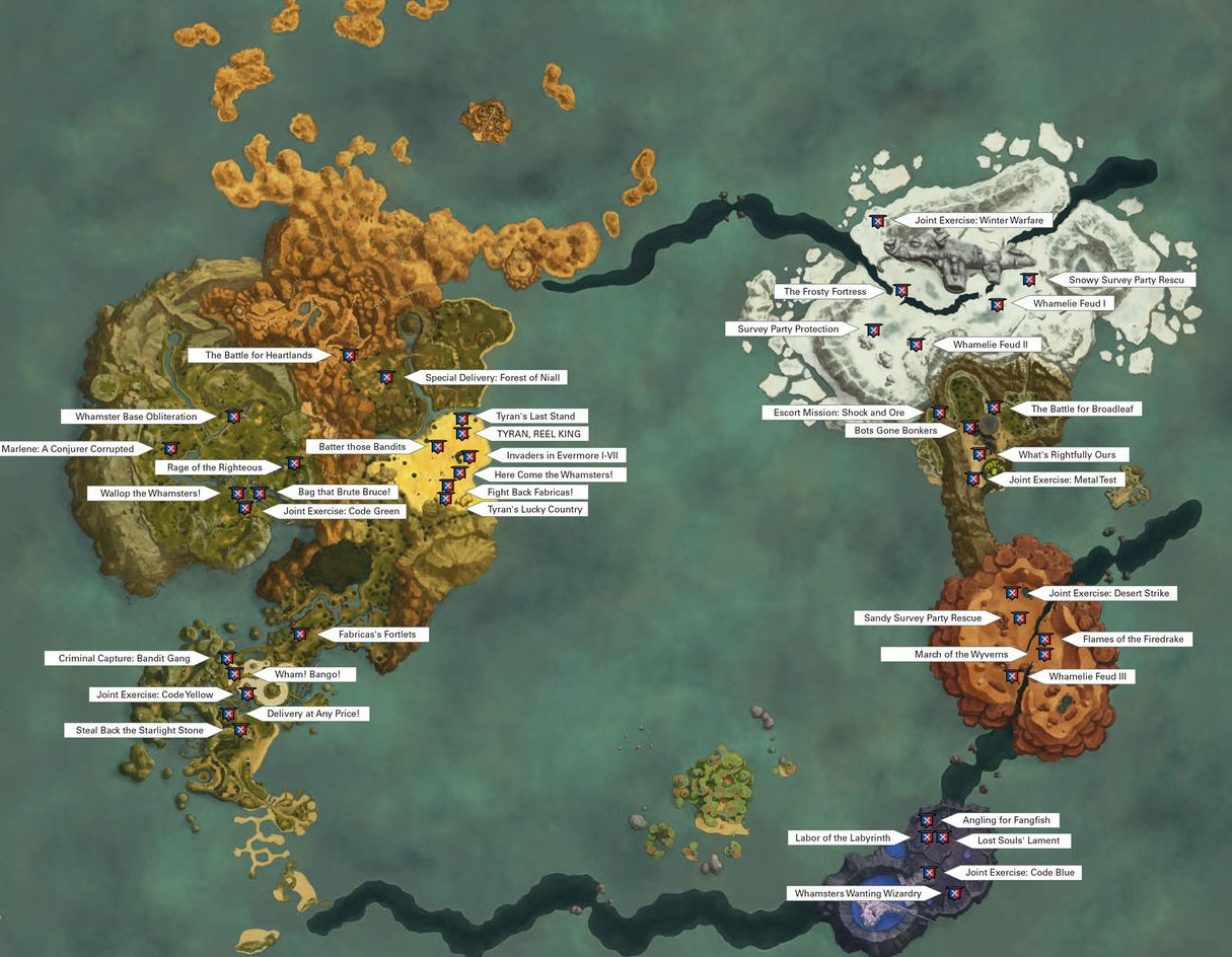 Steam munity Guide Ni No Kuni 2 Skirmish List Map and