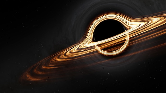 4K Interstellar Gargantua 星际穿越