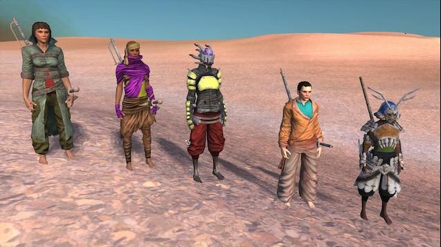 Steam Workshop :: Coloured Clothes Redux