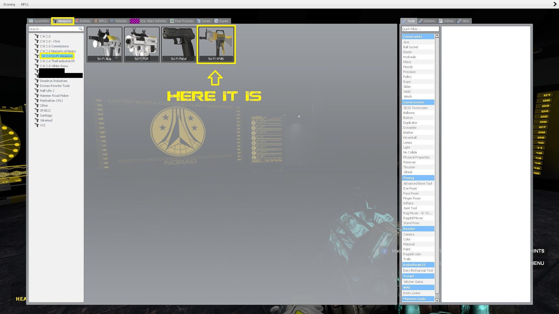 Steam Workshop :: [CW 2 0] Sci-Fi SPAS