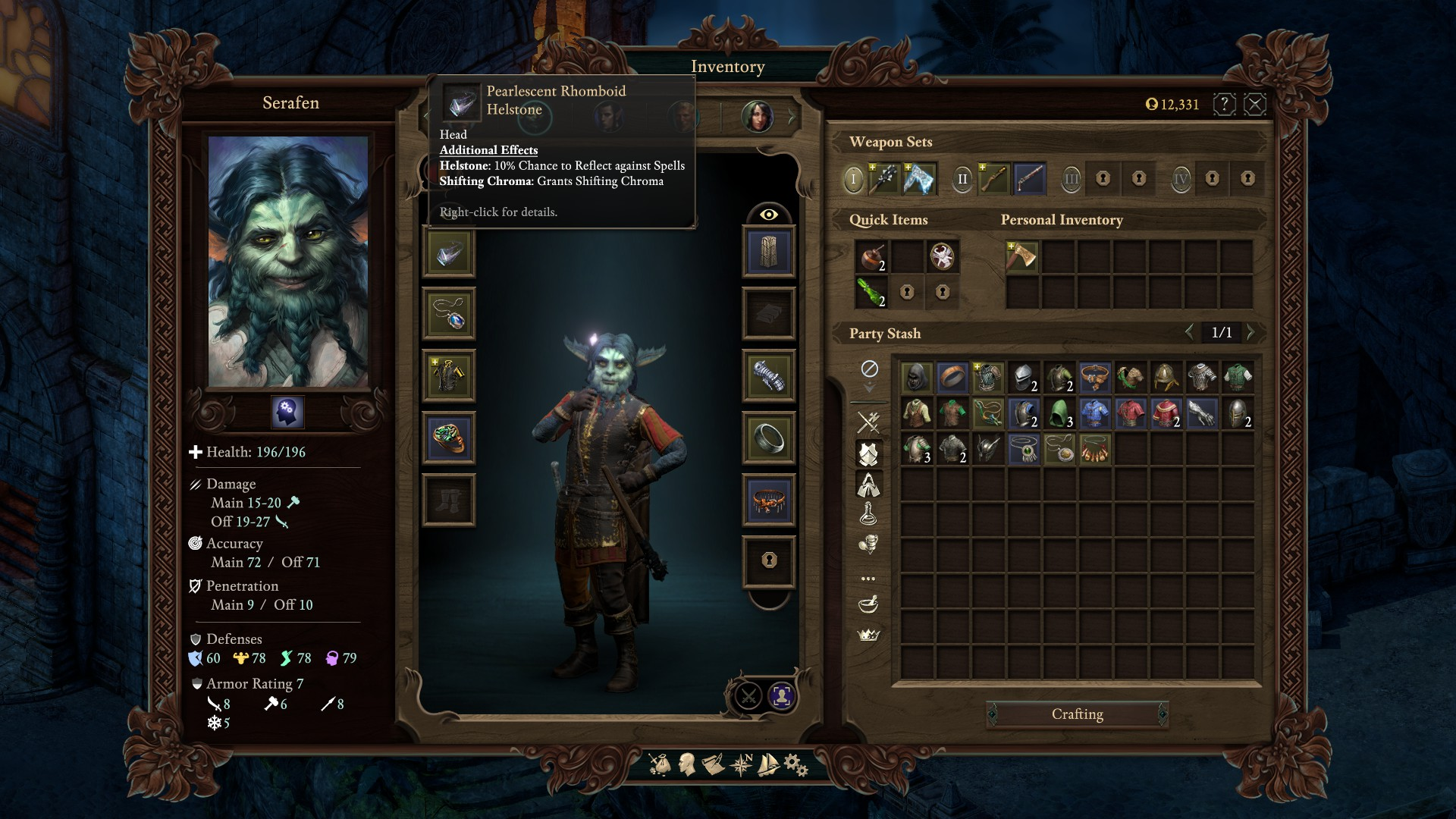Serafen, Nightmare of Deadfire (Witch King) | Leveling