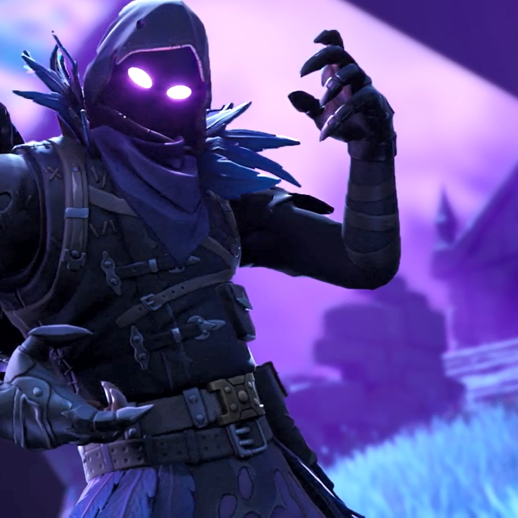 Steam Workshop :: Fortnite Animated Wallpaper   The Raven [Blurred  Background] (youtubemp4