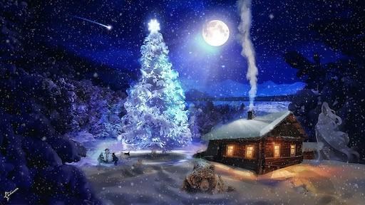 Новогодние красивые картинки живые