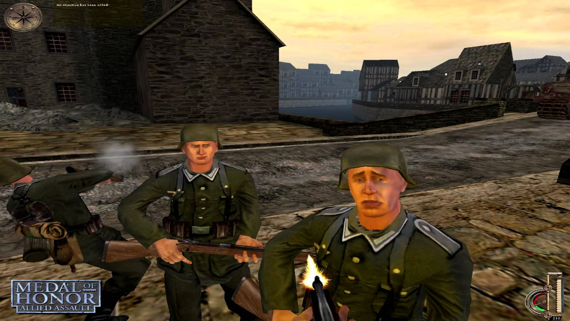 Medal of honor: allied assault game mod marcomix's real weapons.