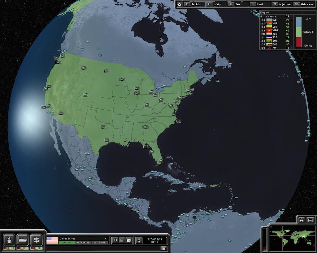 Steam Community :: Screenshot :: Empire 194 countries