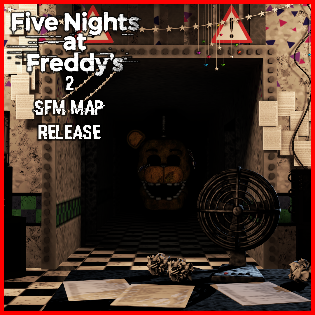 [FNAF] Five Nights at Freddy's 2 Map