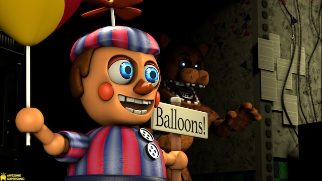 Steam Workshop :: [FNAF] Five Nights at Freddy's 2 Map
