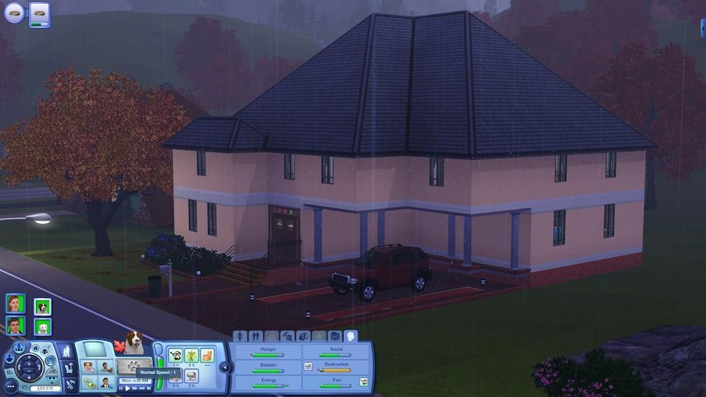 Steam Community :: Screenshot :: Rain in Sunset Valley