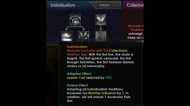 Steam Workshop Expanded Tradition Choice