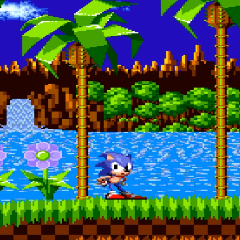 Steam Workshop Sonic Waiting In Green Hill Zone