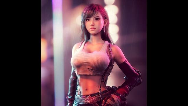 Tifa Lockhart Final Fantasy Artwork Hd Fantasy Girls 4k: Steam Workshop :: Tifa Lockhart Final Fantasy 7 Animated