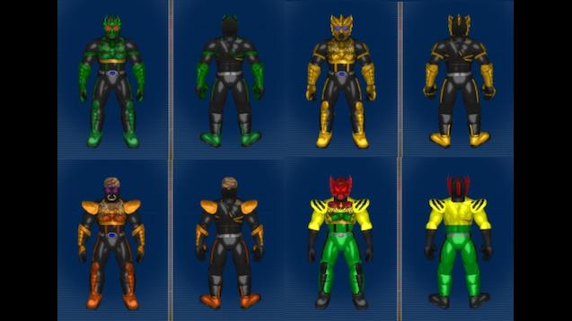 Steam Workshop :: Kamen Rider OOO