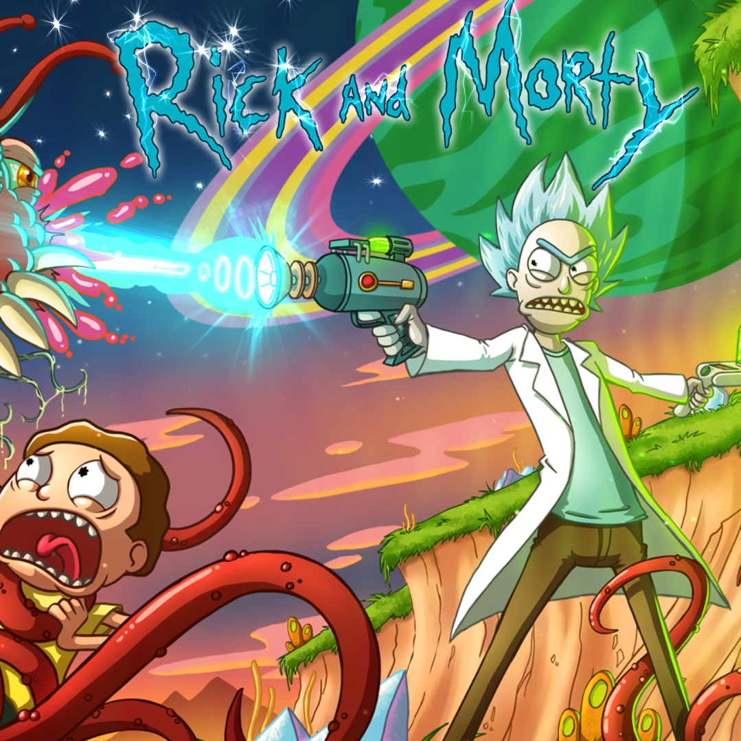 Steam Workshop Pubg 5 Animated Wallpaper: Steam Workshop :: Rick And Morty Wallpaper Animated