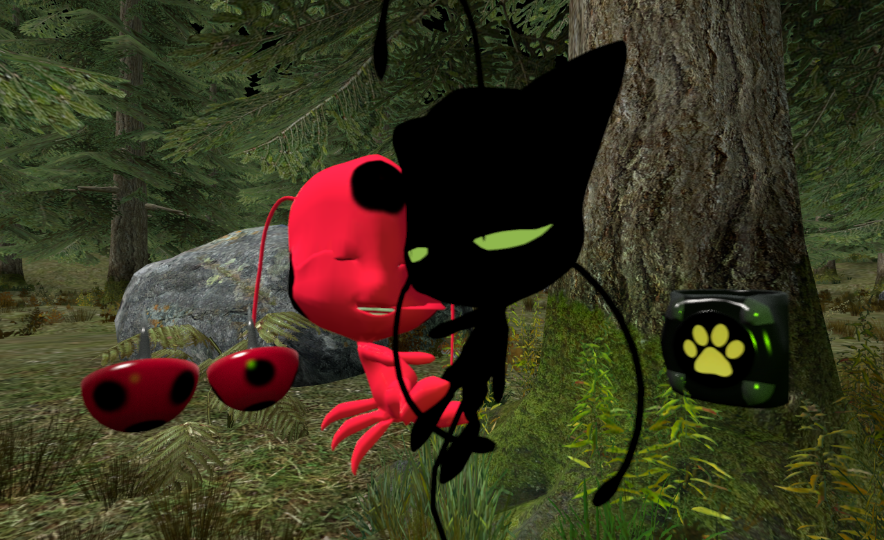 Steam Workshop Miraculous Ladybug Kwamies And Miraculouses