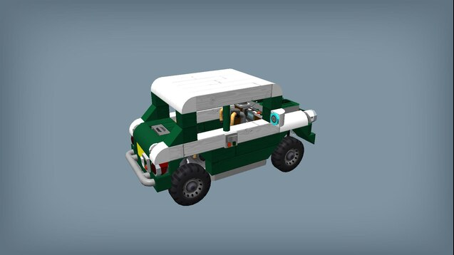 Steam Workshop Lego Mini Cooper