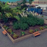 b30d0a79bb7 Medium terraced wooden planter 4