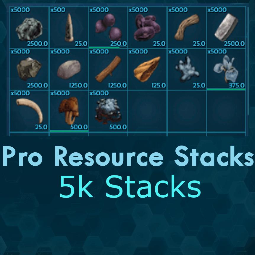Pro Resource Stacks
