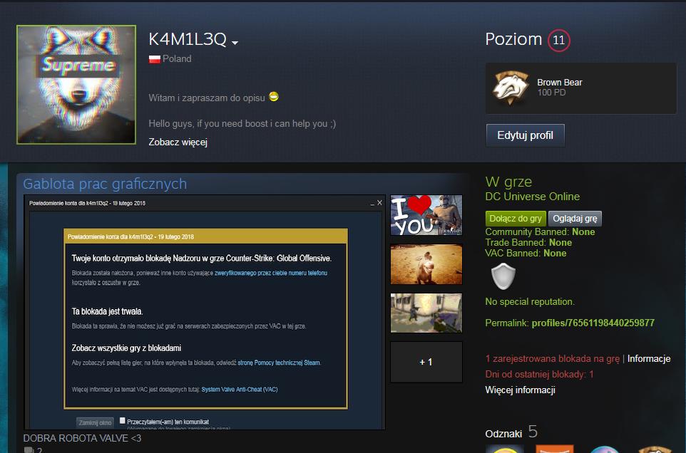 Сообщество Steam :: :: VAC'a NIE MA ACZKOLWIEK JEST JEBANA BLOKADA <333