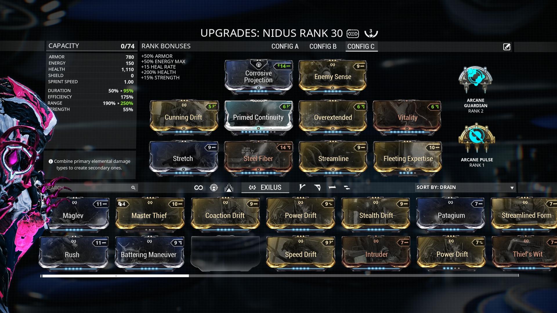 Warframe Nidus Build Endo Farm   damnxgood.com