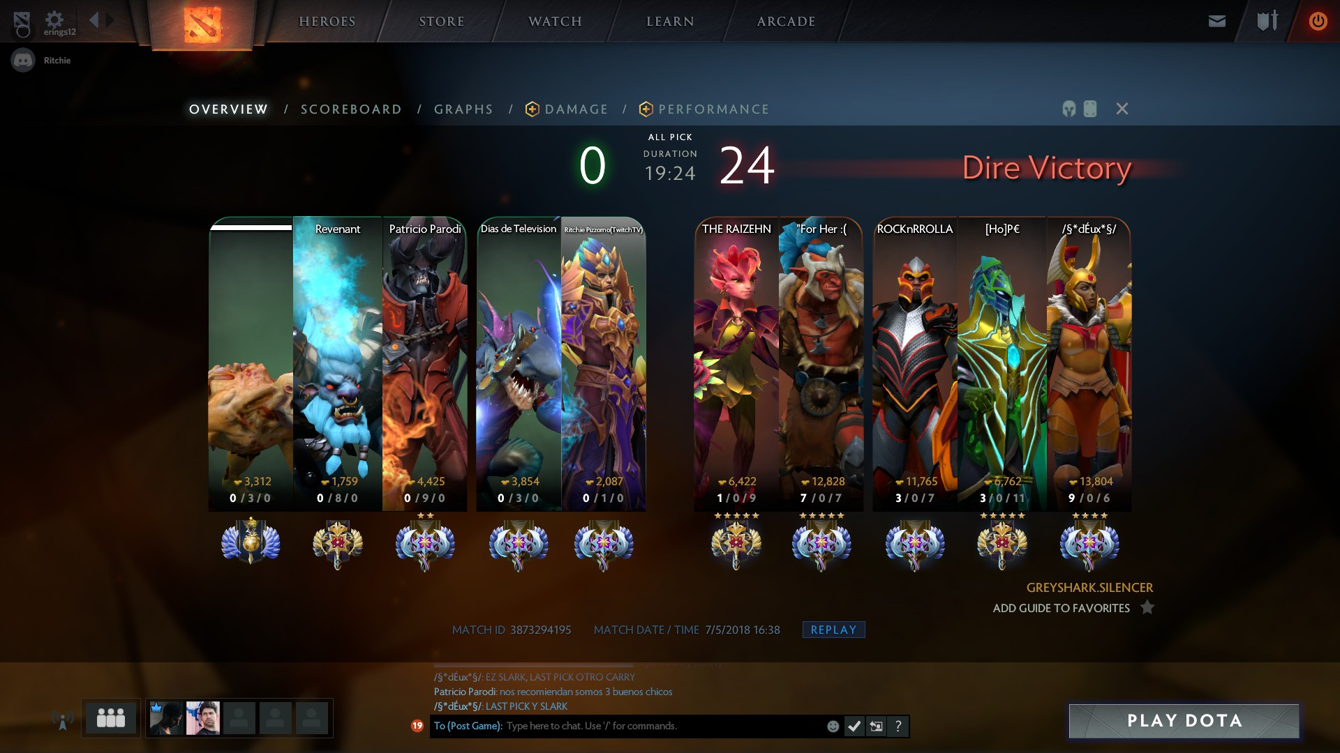 Dota 2 ranked matchmaking not working