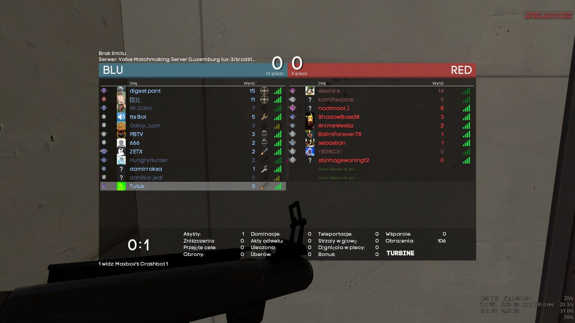 TF2 matchmaking servrar ner