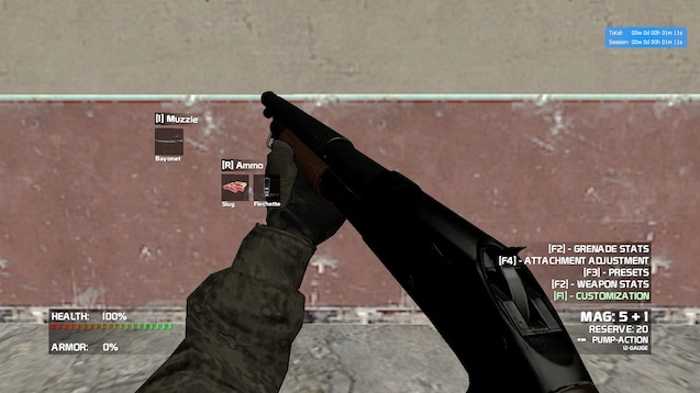 Steam Workshop :: [CW2 0] M1897 Trench Gun